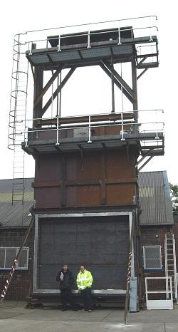 guillotine-damper